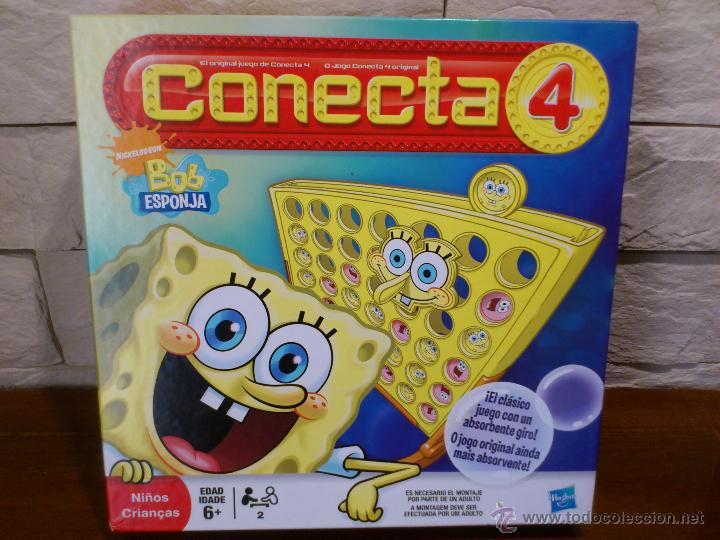 Conecta 4 Bob Esponja Hasbro 2009 Desca Comprar Juegos De