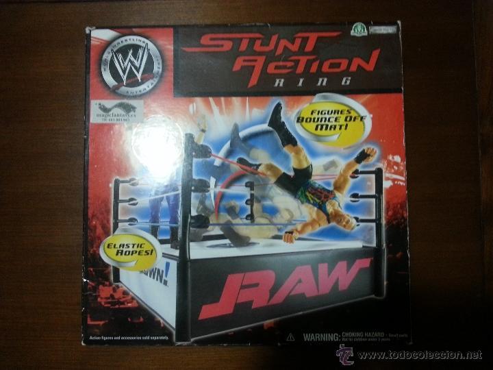 Ring De Lucha Libre Wwe Raw Comprar Juegos De Mesa Antiguos En