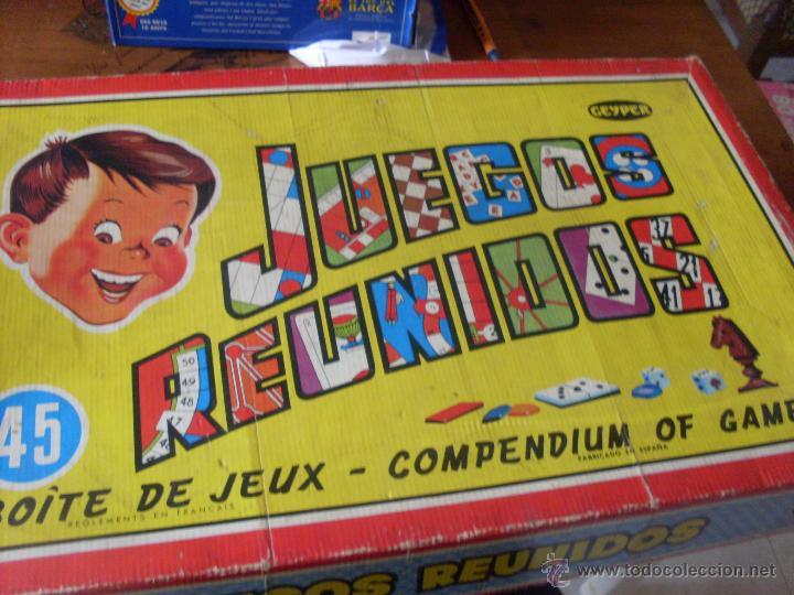 Juegos Reunidos Geyper 45 Ju20 Comprar Juegos De Mesa Antiguos