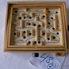 Juegos de mesa: JUEGO LABERINTO - JUEGO DE HABILIDAD MANUAL DE MADERA - NUEVO. Lote 48696287