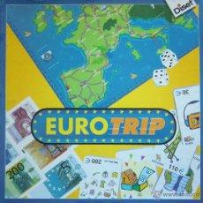 Juegos de mesa: JUEGO DE MESA EUROTRIP (1998) DE DISET. ¡COMPLETO! BUEN ESTADO. Lote 48697681