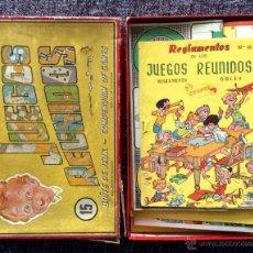 Juegos de mesa: 15 JUEGOS REUNIDOS GEYPER 1960. Lote 48706299