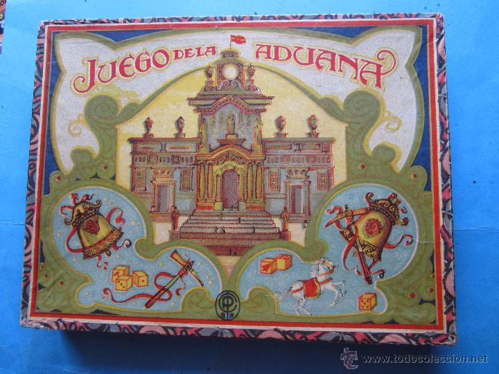 JUEGO DE LA ADUANA , O DEL CABALLO BLANCO , MUY BIEN CONSERVADO , COMPLETO, CON INSTRUCCIONES (Juguetes - Juegos - Juegos de Mesa)