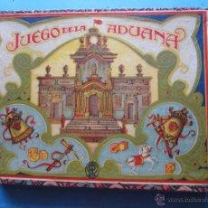 Juegos de mesa: JUEGO DE LA ADUANA , O DEL CABALLO BLANCO , MUY BIEN CONSERVADO , COMPLETO, CON INSTRUCCIONES. Lote 48737535