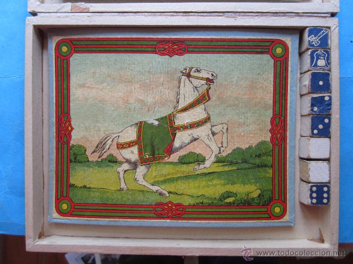 Juegos de mesa: juego de la aduana , o del caballo blanco , muy bien conservado , completo, con instrucciones - Foto 8 - 48737535