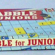 Juegos de mesa: SCRABLE FOR JUNIORS JUEGO MESA MADE IN ENGLAND 1958. Lote 48848610