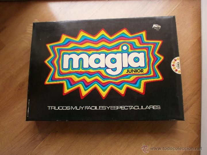 JUEGO DE MESA MAGIA JUNIOR DE EDUCA (Juguetes - Juegos - Juegos de Mesa)