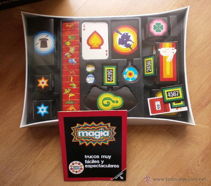 Juegos de mesa: JUEGO DE MESA MAGIA JUNIOR DE EDUCA - Foto 2 - 48878206