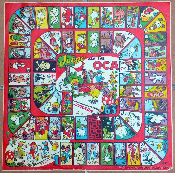 Antiguo tablero del juego de la oca v m comprar juegos de mesa antiguos en todocoleccion - La oca juego de mesa ...