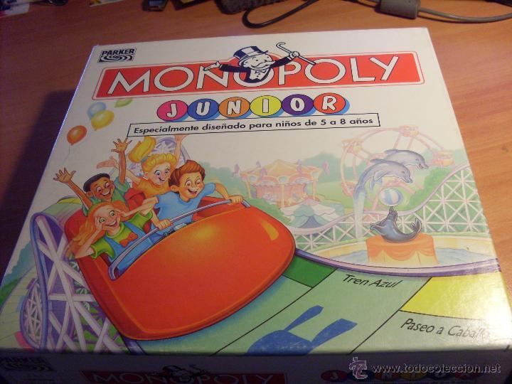 Monopoly Junior Parker J 0 Comprar Juegos De Mesa Antiguos En