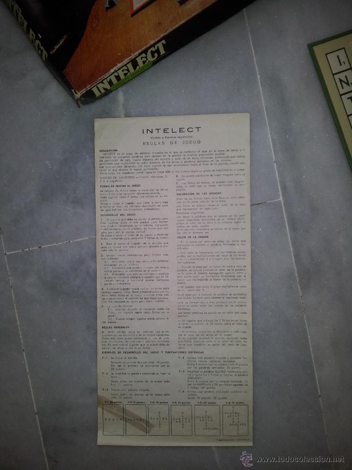 Juegos de mesa: INTELECT JUEGO DE LOS 80 DE CEFA - Foto 4 - 49169730