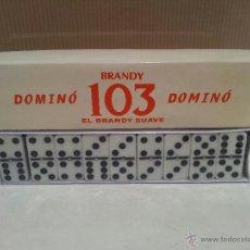 Juegos de mesa: ANTIGUO JUEGO DEL DOMINO BRANDY 103 PRECINTADO SIN USO VER FOTOS. Lote 194759191