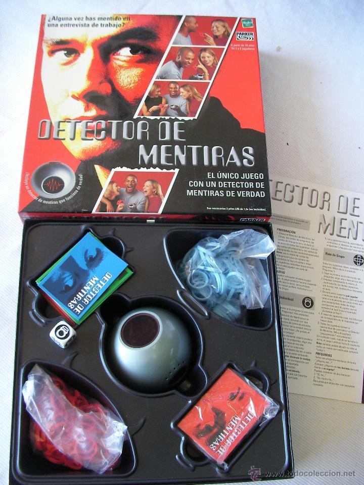 Juego Detector De Mentiras Comprar Juegos De Mesa Antiguos En
