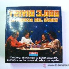 Juegos de mesa: TRIVIO 3000, LA FUERZA DEL SABER . Lote 49250347