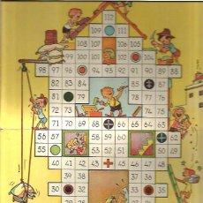 Juegos de mesa: JUEGOS REUNIDOS GEYPER TABLERO JUEGO CONSTRUCCIONES. Lote 49350349