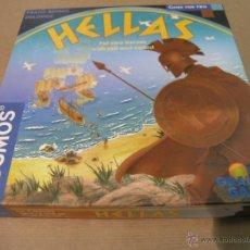 Juegos de mesa: JUEGO HELLAS GRECIA KOSMOS RIO GRANDE GAMES FRANZ-BENNO DELONGE. Lote 49462061