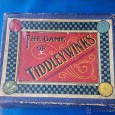Juegos de mesa: JUEGO DE MESA ((((THE GAME OF TIDDLYWINKS)))). Lote 49481238