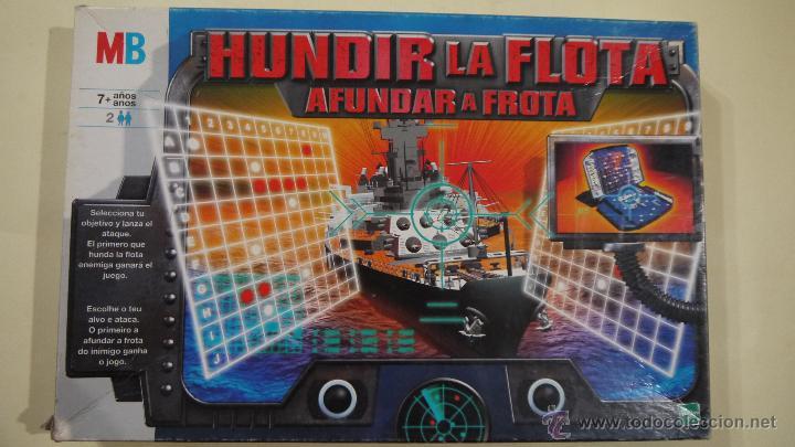 HUNDIR LA FLOTA - MB - 2000 (Juguetes - Juegos - Juegos de Mesa)