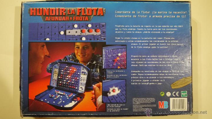 Juegos de mesa: HUNDIR LA FLOTA - MB - 2000 - Foto 2 - 49492933
