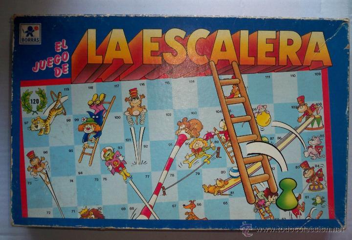 El Juego De La Escalera Borras Anos 80 Completo Comprar Juegos De
