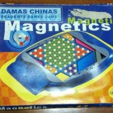 Juegos de mesa: DAMAS CHINAS MAGNETICAS - CHINESSE DAMES MAGNETICS. Lote 49640698