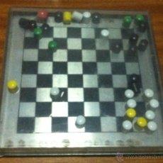 Juegos de mesa: TABLERO AJEDREZ MAGNETICO + FICHAS . Lote 49641810
