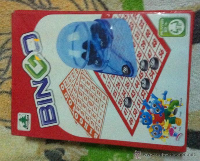 Bingo Para Ninos Comprar Juegos De Mesa Antiguos En