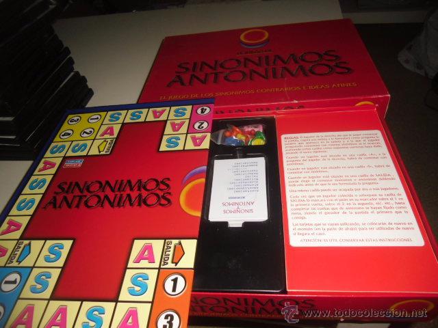 juego de mesa sinonimos antonimos falomir comprar juegos