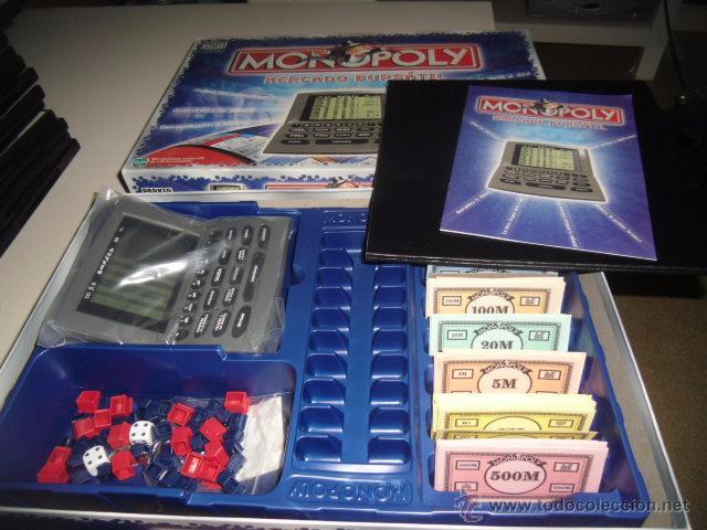 Juego De Mesa Monopoly Parker Mercado Bursatil Comprar Juegos De