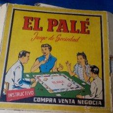 Juegos de mesa: EL PALE. Lote 49754478
