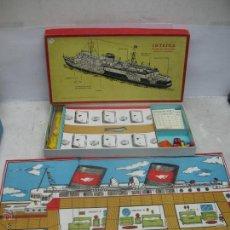 Juegos de mesa: FRANCISCO ROSELLO - ANTIGUO JUEGO DE MESA NAVAL INTRIGA JUEGO DE CONTRAESPIONAJE. Lote 49874622