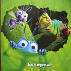 Juegos de mesa: LOS JUEGOS DE BICHOS. 12 LÁMINAS DE BICHO VOLADOR. 6 TABLEROS DE JUEGO. 48 FICHAS. COMPLETO.. Lote 49881979
