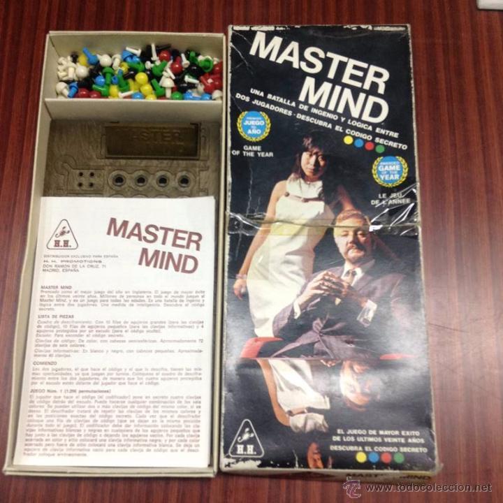 JUEGO MASTER MIND (Juguetes - Juegos - Juegos de Mesa)