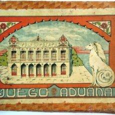 Juegos de mesa: JUEGO ADUANA, 5 FICHAS, 4 DADOS, VER FOTOS ADICIONALES, T. Lote 49911438