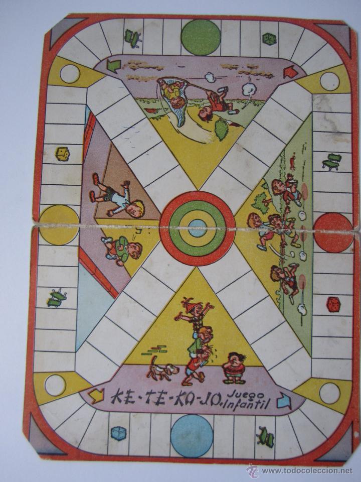 Tablero Carton Ke Te Ko Jo Juegos Reunidos Geyp Comprar Juegos De