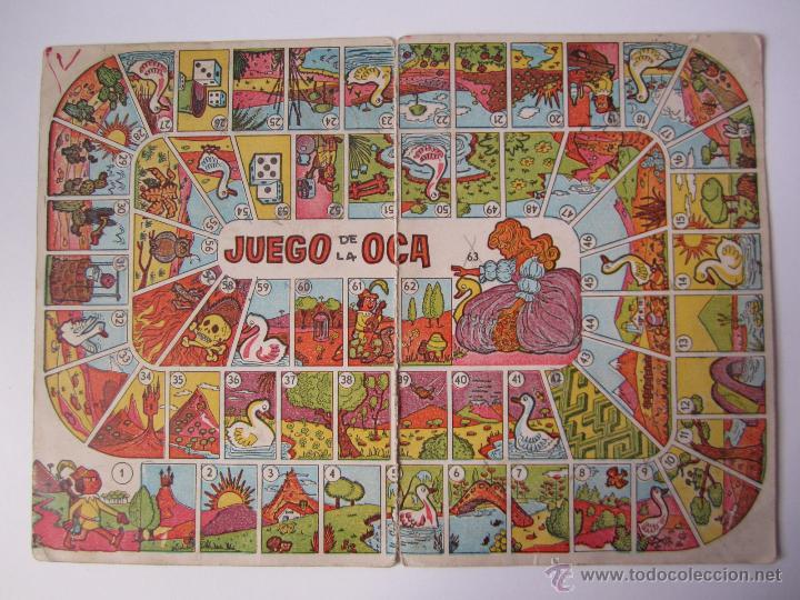 Tablero Carton Juego De La Oca Juegos Reunidos Comprar Juegos De