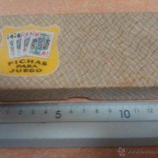Juegos de mesa: ANTIGUAS FICHAS DE JUEGO ( PARA APUESTAS ) AÑOS 40 APROX.. Lote 50130556