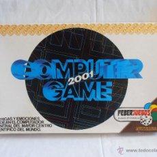 Juegos de mesa: JUEGO DE MESA COMPUTER 2001 GAME FEBER JUEGOS COMPLETO AÑOS 80. Lote 50137022