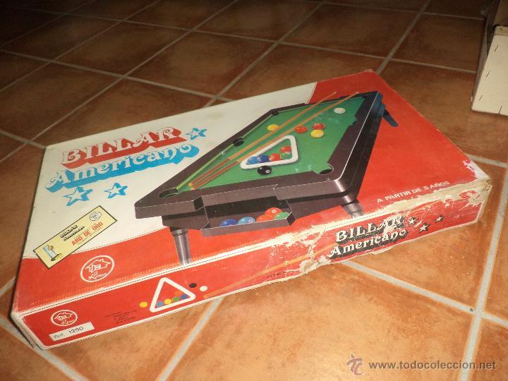 Juegos de mesa: Rima - Billar Americano - Foto 3 - 43918134
