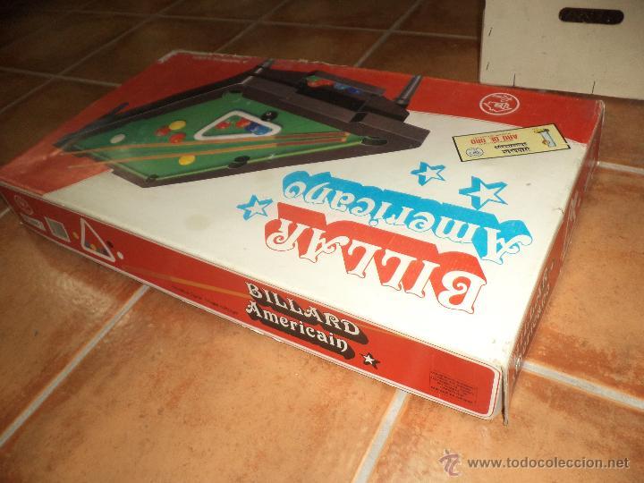 Juegos de mesa: Rima - Billar Americano - Foto 4 - 43918134