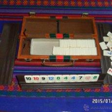 Juegos de mesa: RUMMY RUMM-EEE RUMMWAY ORIGINAL AMERICANO EN MALETÍN AÑOS 70 TIPO PEGASI. BUEN ESTADO. MUY, MUY RARO. Lote 50182345