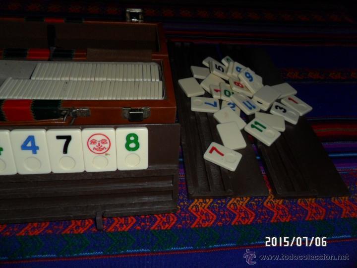 Juegos de mesa: RUMMY RUMM-EEE RUMMWAY ORIGINAL AMERICANO EN MALETÍN AÑOS 70 TIPO PEGASI. BUEN ESTADO. MUY, MUY RARO - Foto 4 - 50182345