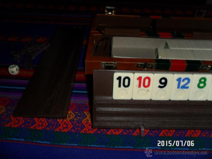 Juegos de mesa: RUMMY RUMM-EEE RUMMWAY ORIGINAL AMERICANO EN MALETÍN AÑOS 70 TIPO PEGASI. BUEN ESTADO. MUY, MUY RARO - Foto 5 - 50182345