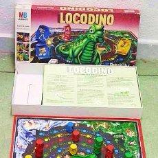 Juegos de mesa: LOCODINO MB JUEGOS COMPLETO AÑO 1988. Lote 50212665