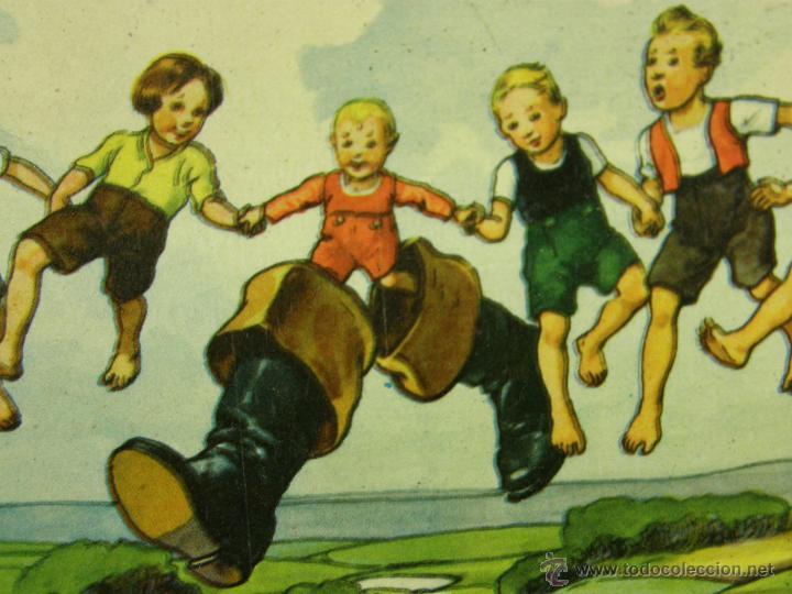 Juegos de mesa: juego swiss loto contes fées cuentos hadas años 40 carlit zurich suiza fichas nuevas 25x35x4cms - Foto 2 - 50235589