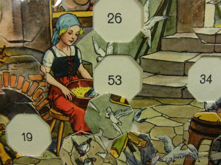 Juegos de mesa: juego swiss loto contes fées cuentos hadas años 40 carlit zurich suiza fichas nuevas 25x35x4cms - Foto 8 - 50235589