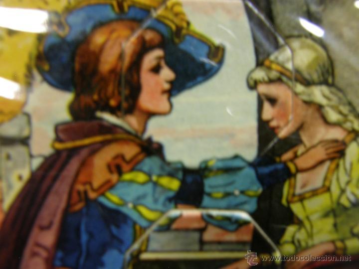 Juegos de mesa: juego swiss loto contes fées cuentos hadas años 40 carlit zurich suiza fichas nuevas 25x35x4cms - Foto 9 - 50235589