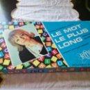 Juegos de mesa: JUEGO LA PALABRA MÁS LARGA. LE MOT LE PLUS LONG. AÑOS 70. FRANCÉS.. Lote 50263798