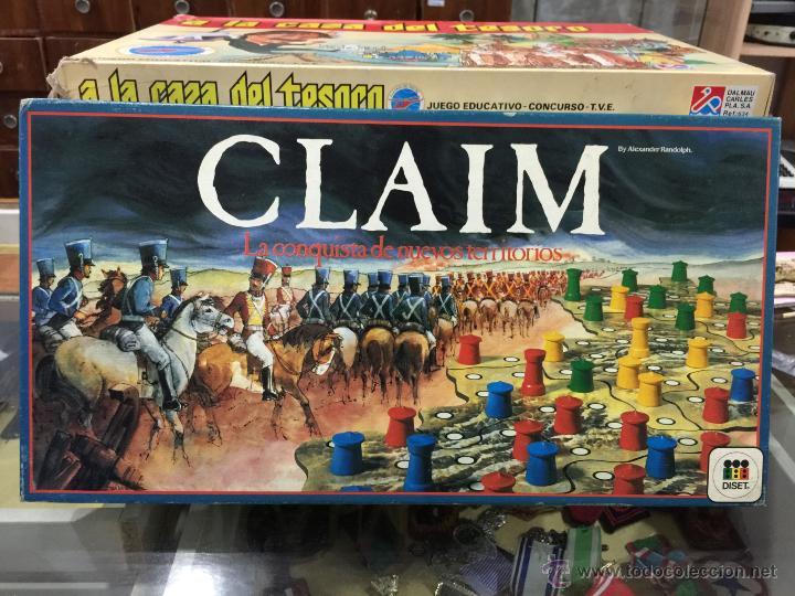 Juego Claim De Diset En Caja Tipo Risk Com Comprar Juegos De