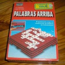 Juegos de mesa: PALABRAS ARRIBA JUEGO DE VIAJE. Lote 165470530